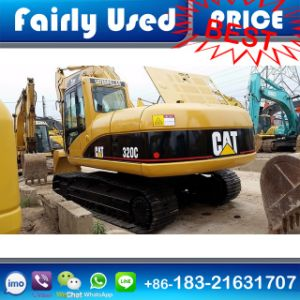 Used Cat Excavator 320c of Cat 320c Excavator for Sale