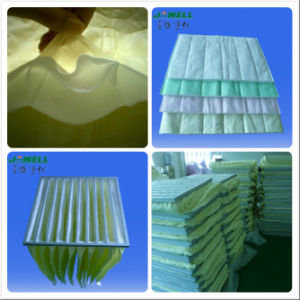 HEPA Air Filter Pocket Filter (3, 5, 6, 8, 10bags) Synthetic Fiber with Pocket Filter pictures & photos