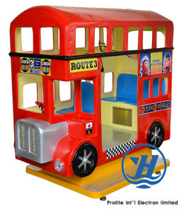 Red London Bus Kiddie Ride Game Machine (ZJ-K23) pictures & photos