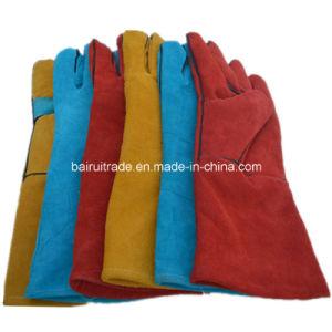 Work Gloves Welding Glove for Welding pictures & photos