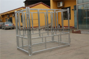 Galvanized Livestock Animal Cattle Horse Bale Hay Feeder pictures & photos