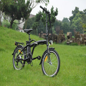 20inch Double Dish Foldable Electric Bicycle pictures & photos