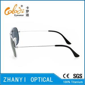 Latest Design Titanium Sun Glasses for Driving with Polaroid Lense (T3025-C2) pictures & photos
