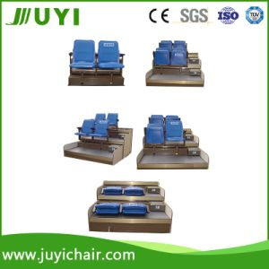 Wholesale Retractable Seats Stadium Bleacher Auditorium Seating with Tip up Plastic Chair Jy-720 pictures & photos