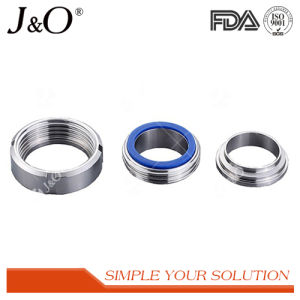 Sanitary Stainless Steel Pipe Union Tube Pipe Fittings Round Nut pictures & photos