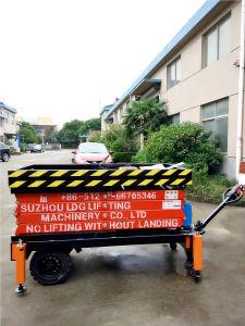 Save 20% 500kg Hydraulic Mobile Scissor Lift (SJZ0.5-6) pictures & photos