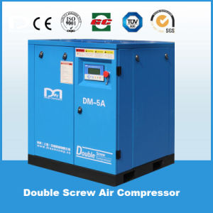 China Energy Saving Belt Driven Industrial Rotary Screw Air Compressor 11kw/15HP Machine of Shanghai Dream pictures & photos
