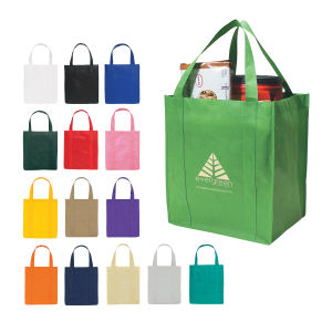 Promotional Non-Woven Shopper Tote Bag (LP008) pictures & photos