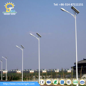 Top Rank 6m 40W Solar Street Light with LED Light pictures & photos