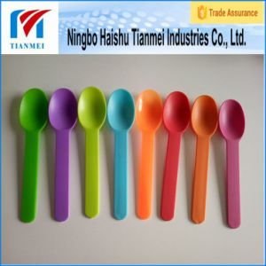 Custom Disposable Food Grade Spoon / Frozen Yogurt Spoon pictures & photos
