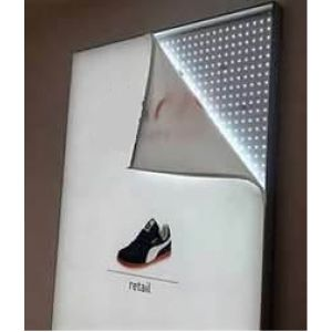 Indoor Backlit Fabric Giant Fold up LED Textile Tension Fabric Light Box pictures & photos