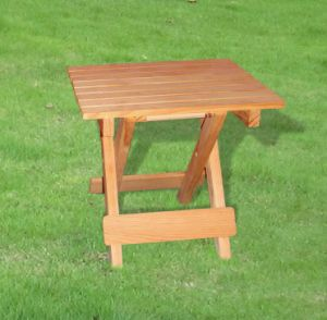 Outdoor Garden Furniture Square Folding Chair