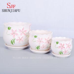 Fresh Quietly Elegant Ceramic Flowerpot pictures & photos