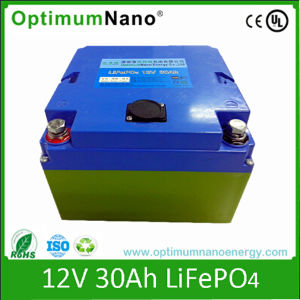 12V 30ah LiFePO4 Battery for Golf Trolley and Golf Cart 12V Battery pictures & photos