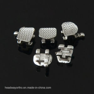 Dental Orthodontic Mini Bondable Edgewise Brackets pictures & photos