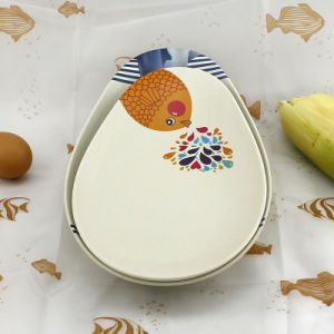 SGS Approved Eco Bamboo Fiber Kitchenwareware Plate (YK-P3021) pictures & photos