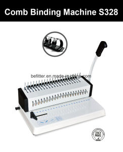 S328 A4 Comb Binding Machine pictures & photos