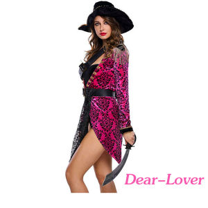 Sexy Swashbuckler Halloween Pirate Costume pictures & photos