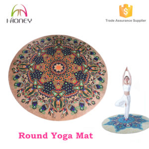 Anti-Slip Rubber Eco-Friendly Best Round Yoga Mat Manufacturer pictures & photos