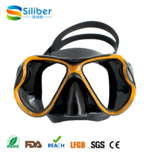 China Diving Mask Tempered Glass Scuba Diving Equipment Liquid Silicone Diving Mask