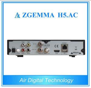 Original DVB-S2+ATSC Hevc/H. 265 Tuners Zgemma H5. AC Digital Satellite TV Box pictures & photos