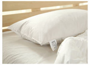 Silk Cotton White Goose Down Pillow Exported to USA pictures & photos