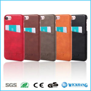 PU Leather Card Slots Back Case for iPhone 6 7 Plus pictures & photos