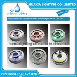 316stainless Steel Waterproof LED fountain Underwater Light pictures & photos