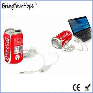 Cola Can Mini Speaker with TF Card Slot (XH-PS-016) pictures & photos