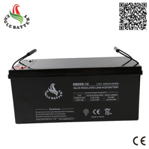High Quality 12V 200ah Sealed Lead Acid Battery for UPS pictures & photos