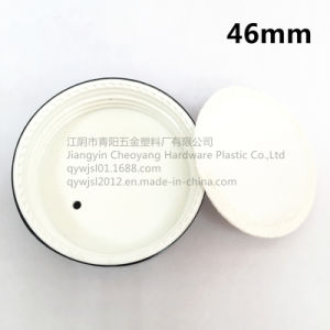 46mm Aluminum-Plastic Screw Cap for 50g Cosmetic Cream Jar pictures & photos