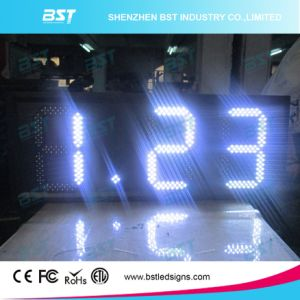 """Red/Green/Yellow/White Outdoor Waterproof Gas Price LED Sign (6""""/8""""/10""""/12""""/15""""/18""""/20""""/22""""/24"""") pictures & photos"""