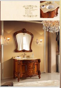 Sanitary Ware Bathroom Cabinet with European Archaize Series (6112) pictures & photos