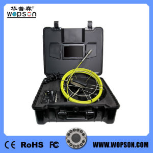Drain Inspection 7inch Monitor Underwater Video Camera pictures & photos