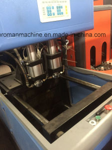 Sample and Efficient Semi Automatic 4 Cavity Pet Bottle Blowing Machine pictures & photos