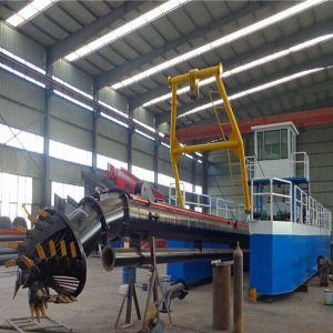 Hydraulic Sand Mining Cutter Suction Dredger High Ability Buket River Sand Dredger pictures & photos
