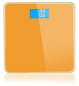 6mm Promotion Body Electronic Weighing Digital Glass Platform Bathroom Scale pictures & photos