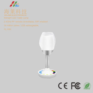 RGBW LED Table Lamp LED Color Cup Hl-080 pictures & photos