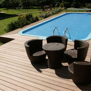 Wood&Plastic Composite Decking (WPC Decking) (HD150H25) pictures & photos