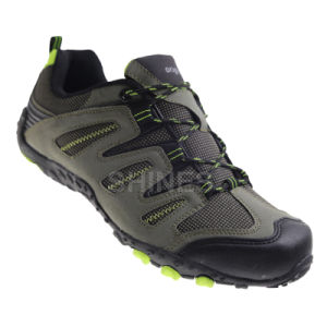 Khaki Hiker Shoes for Mens pictures & photos