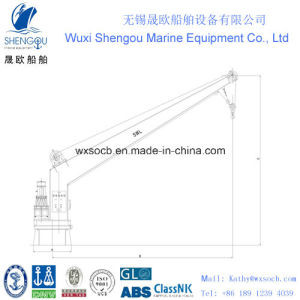 Hight Quality Single Arm Electric Slewing Crane (SMCE1.5)