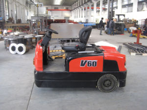 Hytger 6.0ton Electric Tractor with Low Price pictures & photos