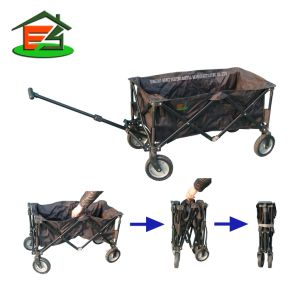 Folding Wagon/Portable Cart/Trailer/Trolley/Carriage/Carrier/Stroller/
