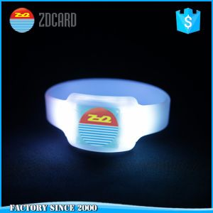 Disposable Event Festival NFC RFID Ntag213 Paper Wrisband pictures & photos