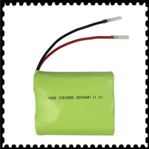 11.1V 2600mAh Kbl Lithium Battery pictures & photos