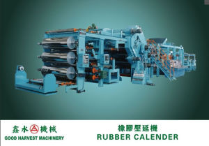 Rubber Calender Line for Rubber Belt pictures & photos
