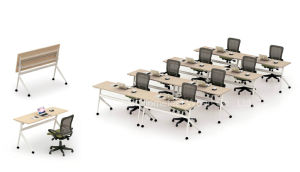 Modern Foldable Student Training Table, Folding Meeting Table (HF-P02) pictures & photos