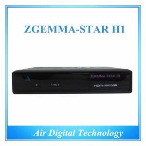 Eruope Hot DVB C DVB S/S2 Turbo Decoder with IPTV Zgemma-Star H1 pictures & photos