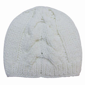 Lady Fashion Acrylic Knitted Winter Warm Beanie Hat (YKY3110) pictures & photos