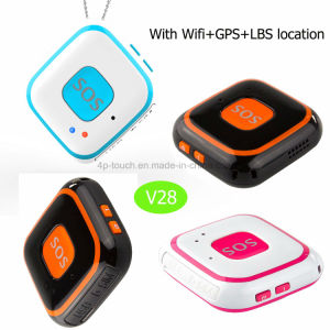 GSM Sos Portable GPS&Mini GPS Tracker with Real-Time Tracking V28 pictures & photos